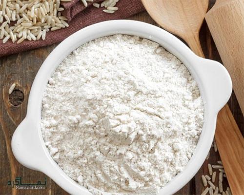 ماسک آرد برنج برای پوست