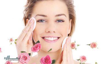 خواص گلاب برای پوست صورت