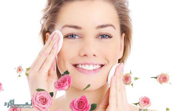 خواص گلاب برای پوست صورت چیست ؟