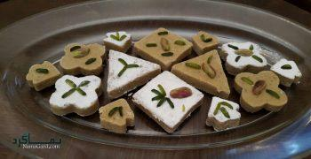 طرز تهیه حلوای زنجبیلی خوشمزه + تزیین