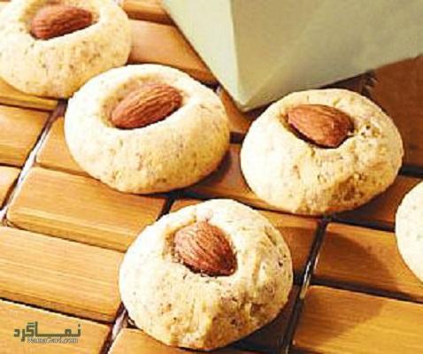 طرز تهیه شیرینی بادام