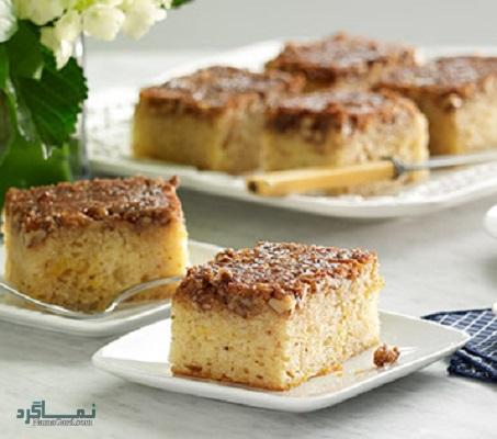 طرز تهیه کیک باقلوا لذیذ