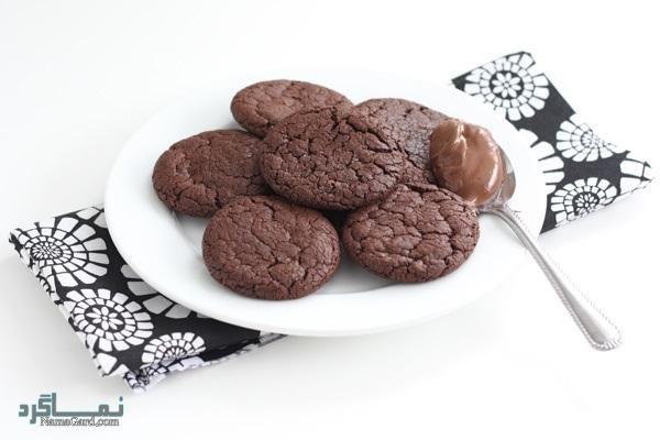 طرز تهیه کوکی شکلات + تزیین