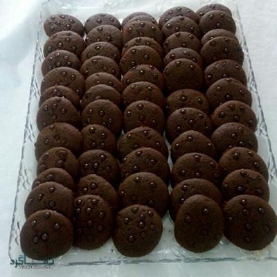 طرز تهیه کوکی شکلات + فیلم آموزشی