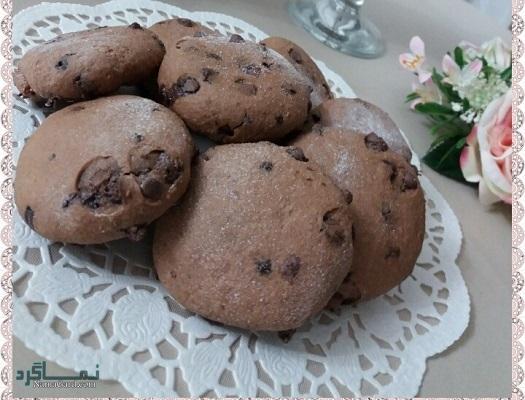 طرز تهیه کوکی شکلات خوشمزه + تزیین