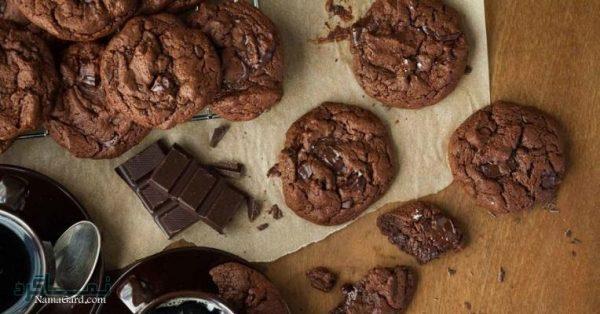 طرز تهیه کوکی شکلات خوشمزه + فیلم آموزشی