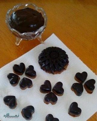 طرز تهیه دنت شکلاتی خوشمزه + تزیین