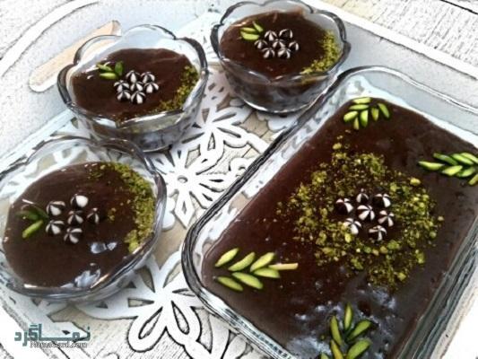 طرز تهیه دنت شکلاتی لذیذ + تزیین