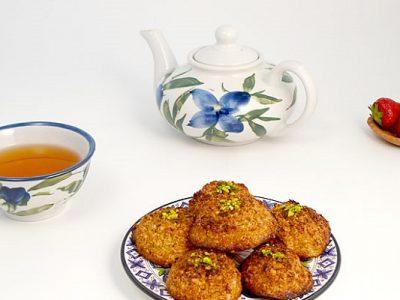 طرز تهیه شیرینی نارگیلی نرم و لذیذ + فیلم آموزشی