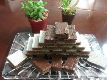 طرز تهیه شیرینی میکادو نرم و لذیذ + فیلم