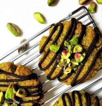 طرز تهیه شیرینی پسته مجلسی + تزیین