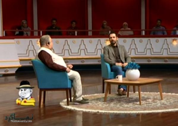 کوروش تهامی در برنامه شبی با عبدی
