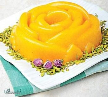 طرز تهیه شله زرد قالبی لذیذ و شیک + تزیین