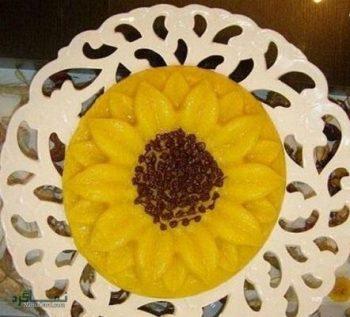 طرز تهیه شله زرد قالبی لذیذ + تزیین