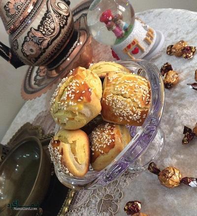 طرز تهیه شیرینی دانمارکی خوشمزه + تزیین
