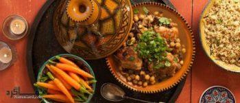 طرز تهیه خوراک مرغ مراکشی لذیذ و دلچسب