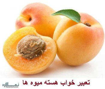تعبیر خواب هسته میوه ها + تعبیر خواب هسته زردآلو ، گیلاس ، پرتقال و ..
