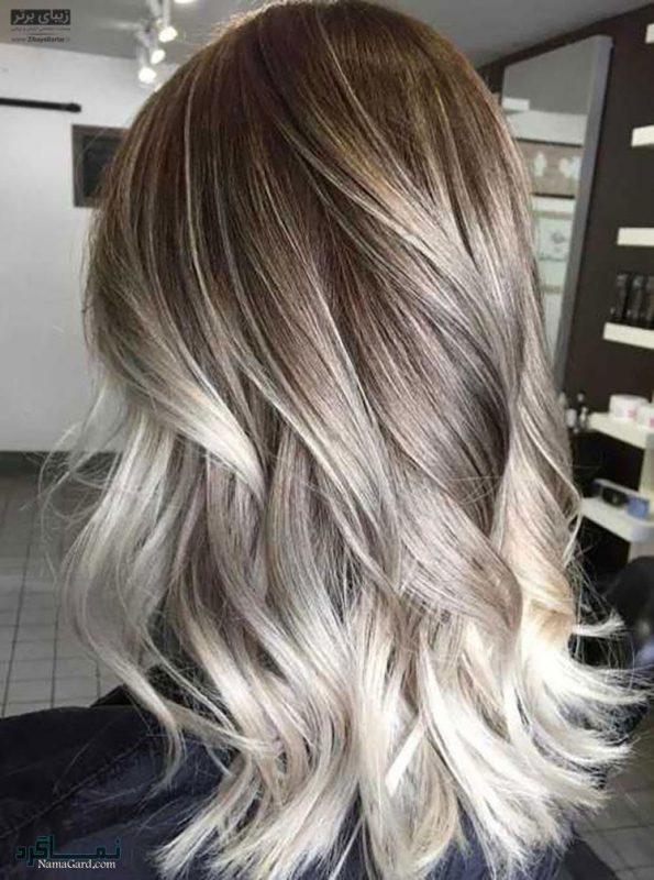 رنگ مخصوص مو پاییز و زمستان