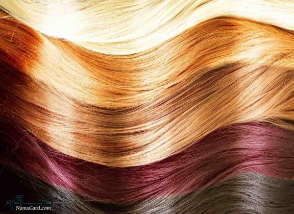 پاک کردن رنگ موی سر