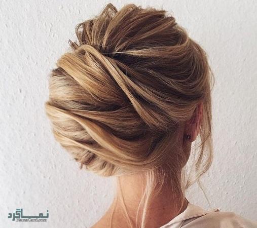 مدل مو مجلسی برای موهای کوتاه