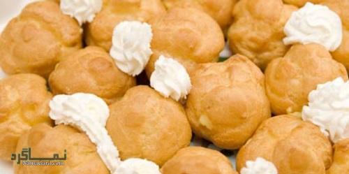 طرز تهیه نان خامه ای خوشمزه + فیلم آموزشی