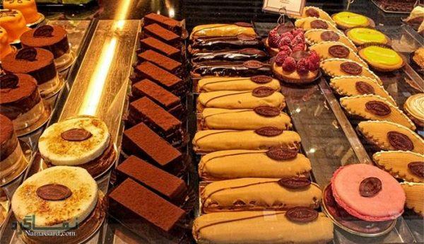 جدول انواع کیک و شیرینی + آموزش تهیه کیک و شیرینی