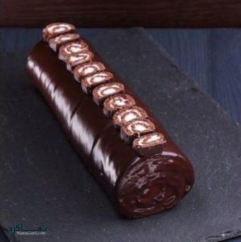 طرز تهیه رولت شکلاتی
