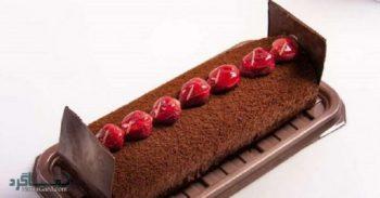 طرز تهیه رولت شکلاتی شیک