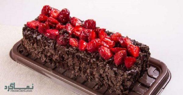 طرز تهیه رولت شکلاتی شیک + تزیین