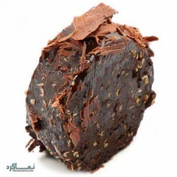 رولت شکلاتی + تزیین