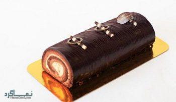طرز تهیه رولت شکلاتی شیک + فیلم آموزشی