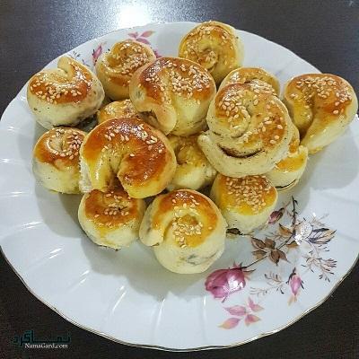 طرز تهیه نان خرمایی خوشمزه + فیلم آموزشی