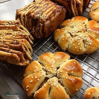 طرز تهیه نان خرمایی + فیلم آموزشی