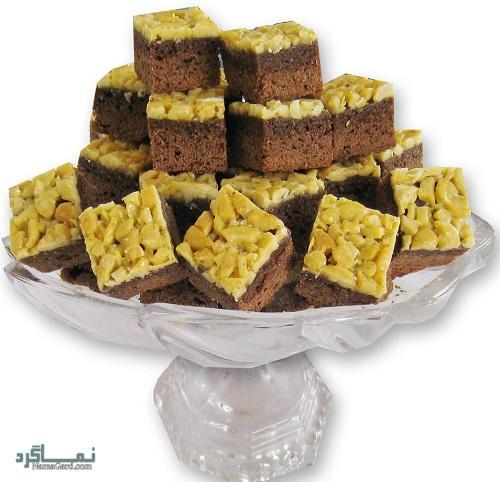 طرز تهیه شیرینی ملکه بادام مجلسی + تزیین