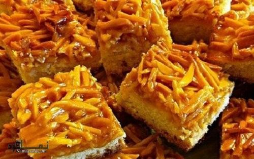 طرز تهیه شیرینی ملکه بادام مجلسی