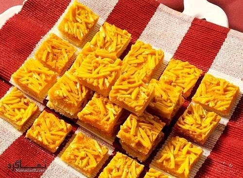طرز تهیه شیرینی ملکه بادام لذیذ
