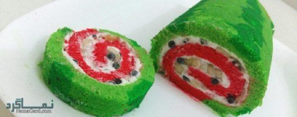 رولت هندوانه یلدا