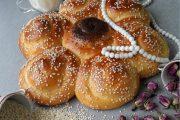 طرز تهیه نان شیرمال نرم خانگی + فیلم آموزشی