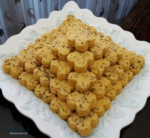 طرز تهیه شیرینی نخودچی مجلسی + تزیین