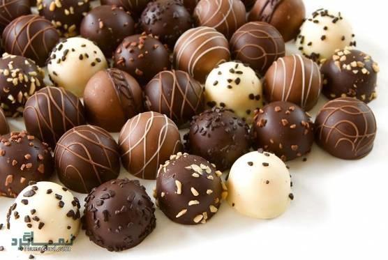 طرز تهیه شیرینی شکلاتی شیک + فیلم آموزشی