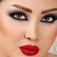 مدل ابروی شیطونی برای دختران و زنان