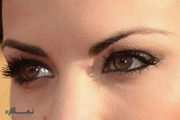 آرایش چشم پف دار