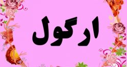 معنی اسم ارگول – معنی نام ارگول – قشنگ ترین نام های دخترانه ترکی