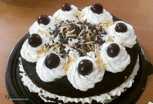 طرز تهیه کیک جنگل سیاه شیک + تزیین