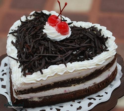 کیک جنگل سیاه + تزیین