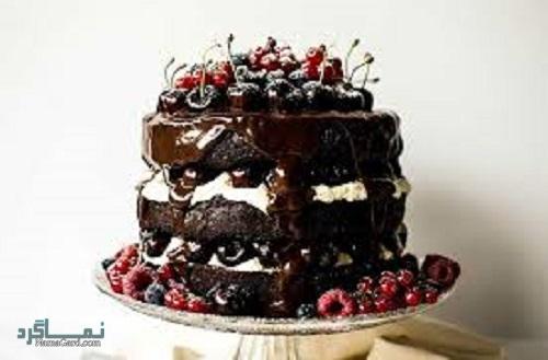 کیک جنگل سیاه خوش طعم + فیلم آموزشی