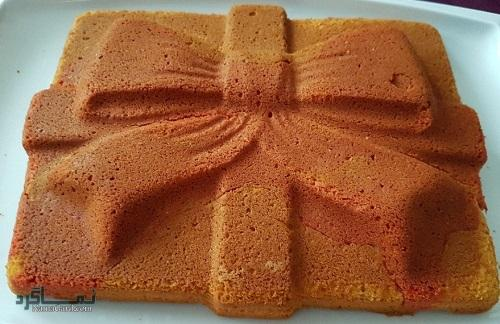 طرز تهیه کیک ماست مجلسی + تزیین