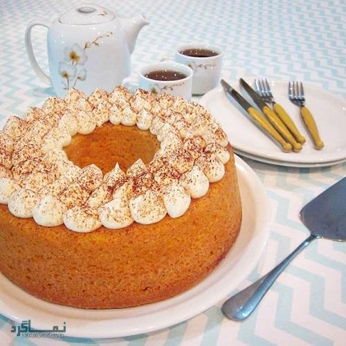 کیک ماست