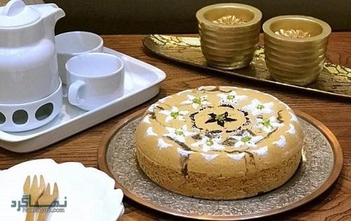 کیک ماست مجلسی