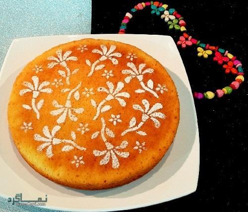 طرز تهیه کیک ماست لطیف + تزیین